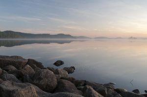 Tidlig morgen ved Boksjø